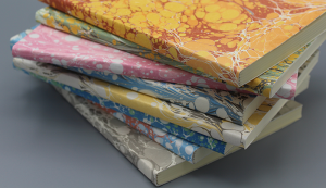 Softcover Marbled Paper Notebooks
